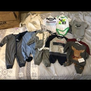 Baby Boy lot of winter clothes